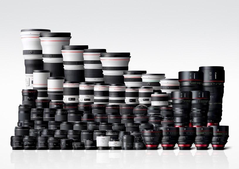 Canon wyprodukował ponad  100 mln wymiennych obiektywów. /materiały prasowe