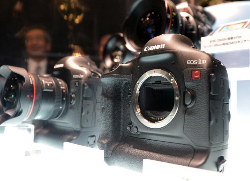 Canon wyprodukował ponad 80 mln aparatów z rodziny EOS /AFP