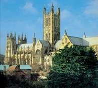 Canterbury, katedra /Encyklopedia Internautica