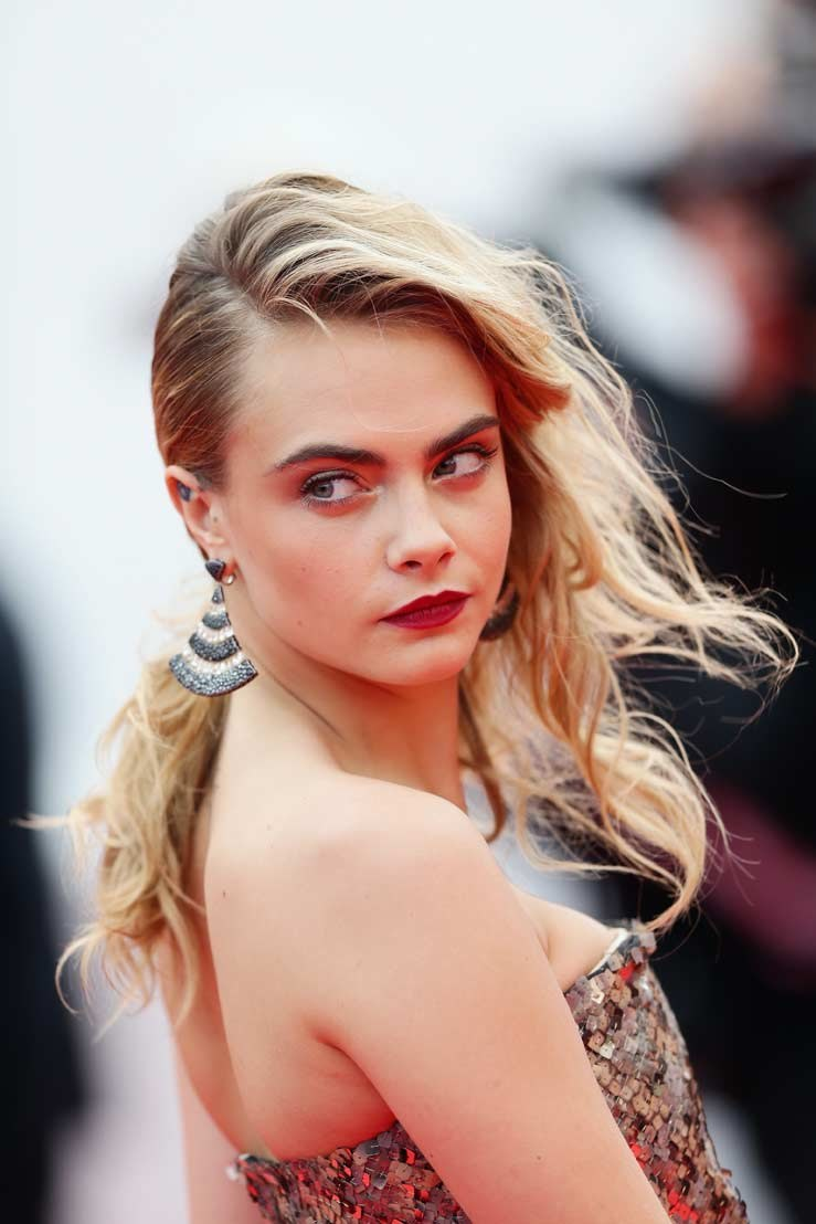 Cara Delevigne /Getty Images