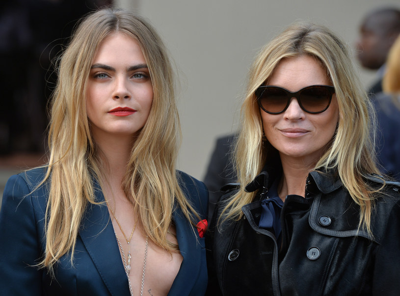 Cara Delevingne i Kate Moss /Anthony Harvey /Getty Images