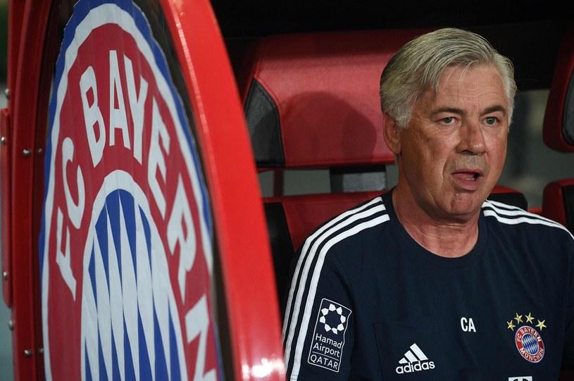Carlo Ancelotti przedwcześnie pożegnał się z Bayernem Monachium /AFP