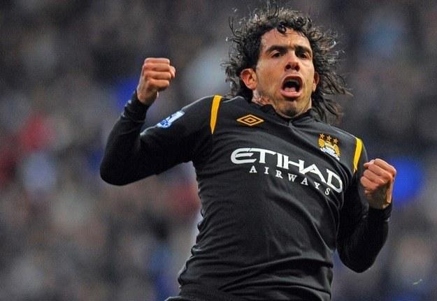 Carlos Tevez to najbardziej rozkapryszona gwiazda Man City /AFP
