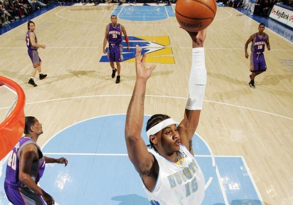 Carmelo Anthony zdobył 43 punkty dla Nuggets /AFP
