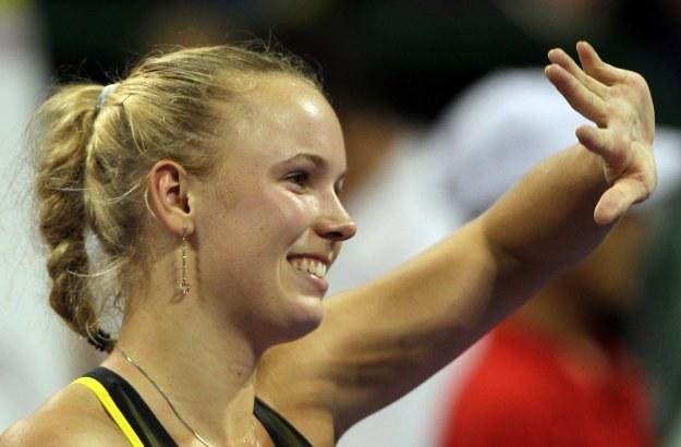 Caroline Wozniacki, numer jeden w kobiecym tenisie /AFP