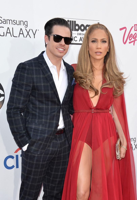 Casper Smart i  Jennifer Lopez /Getty Images