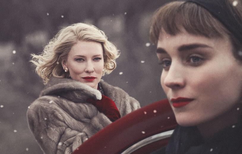 """Cate Blanchett i Rooney Mara za swoje role w """"Carol"""" były nominowane do Oscara /materiały prasowe"""