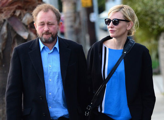 Cate Blanchett z mężem /GoldenEye /London Entertainment /East News