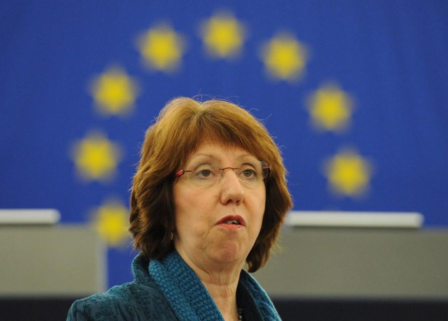 Catherine Ashton /Patrick Seeger  /PAP/EPA