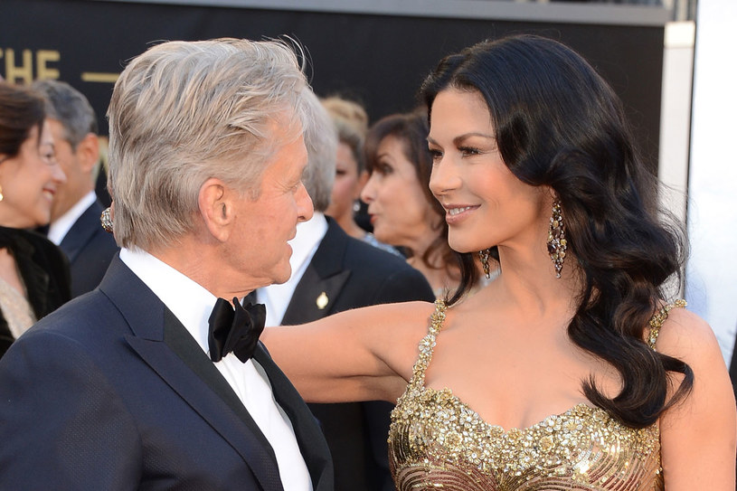 Catherine Zeta-Jones  i Michael Douglas /Getty Images