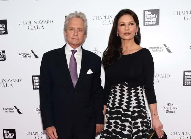 Catherine Zeta -Jones i Michael Douglas /Getty Images