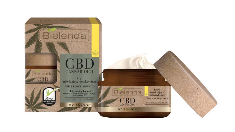 CBD Cannabidiol Krem nawilżająco-detoksykujący z CBD z konopi siewnych cera mieszana tłusta 50 /materiały prasowe