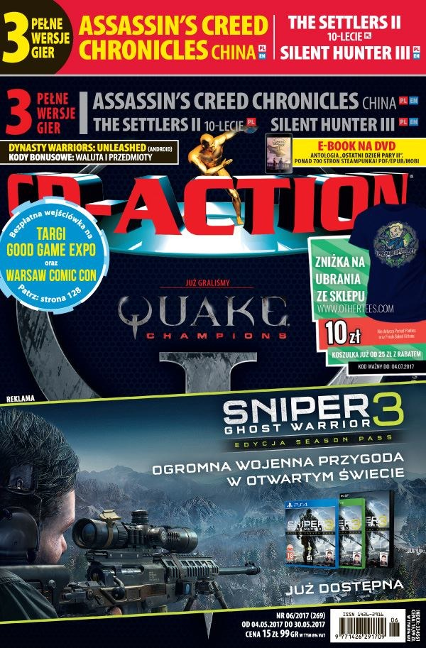 CD-Action 06/2017 – pakiet /CD Action