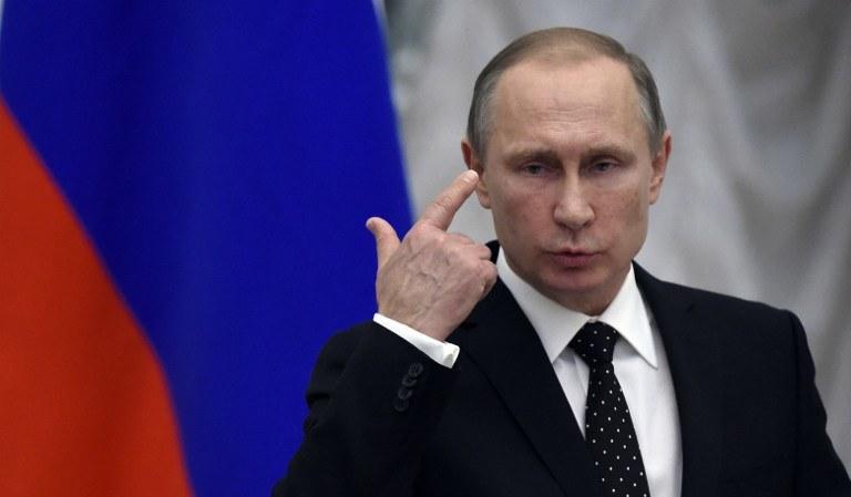 Cele Putina w Syrii sa kompletnie różne od dążeń Zachodu /YURI KADOBNOV / AFP  /AFP