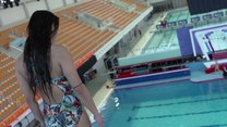 """Celebrity Splash!"" Misheel Jargalsaikhan skacze z 10 metrów!"
