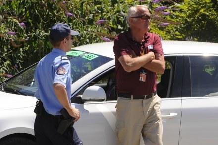 Celnicy przeszukali samochód  Johnny'ego Schlecka, ojca dwóch kolarzy jadących w Tour de France /AFP