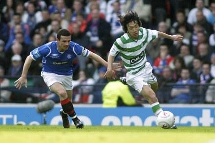 Celtic i Rangers to najmocniejsze szkockie kluby /AFP
