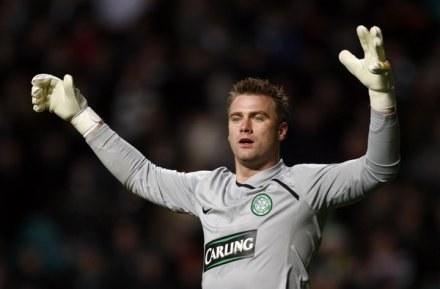 Celtic uległ w Glasgow Dynamie Moskwa 0:1. /AFP