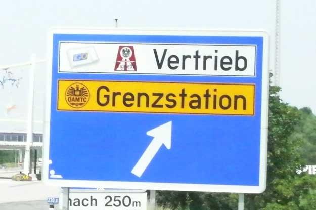 Cena winietki w Austrii to 8 euro za 10 dni /
