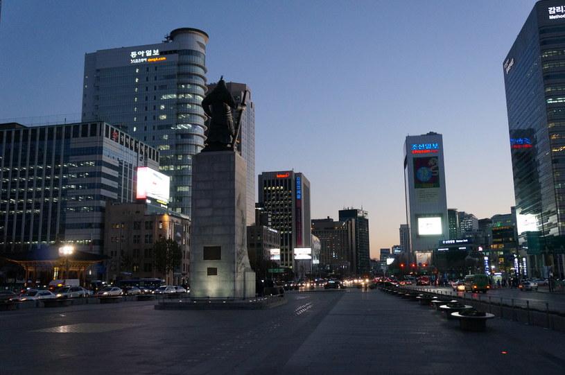 Centrum Seulu - czy Koreańczycy są przygotowani na atak hakerów? /INTERIA.PL