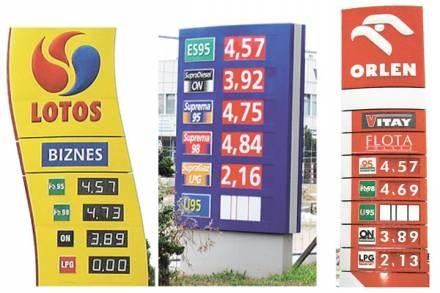 Ceny mówią same za siebie/fot. T. Wosk /Sztafeta