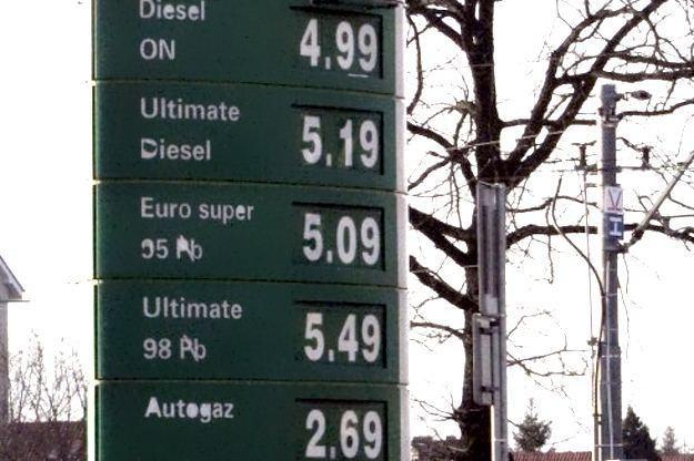 Ceny na jednej ze stacji w Szczecinie /RMF
