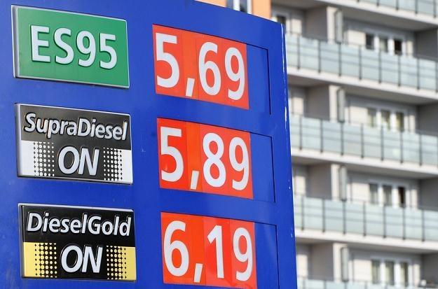 Ceny niektórych paliw już przekroczyły 6 zł / Fot: Jan Bielecki /East News