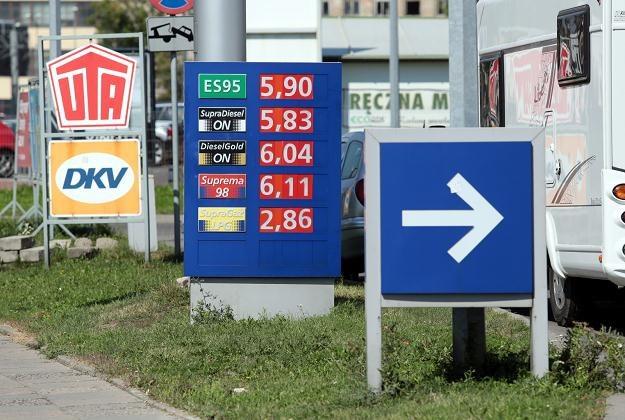 Ceny paliw poszły w górę /PAP