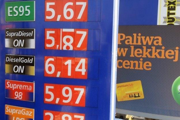 Ceny paliw przestały być lekkie / Fot: Jan Bielecki /East News
