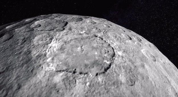 Ceres w obiektywie sondy Dawn. /NASA