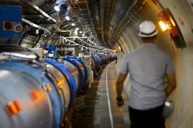 CERN particle accelerator build up to 3 times bigger than the LHC? / AFP