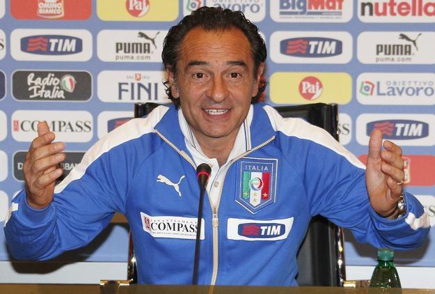 Cesare Prandelli - selekcjoner Italii /AFP