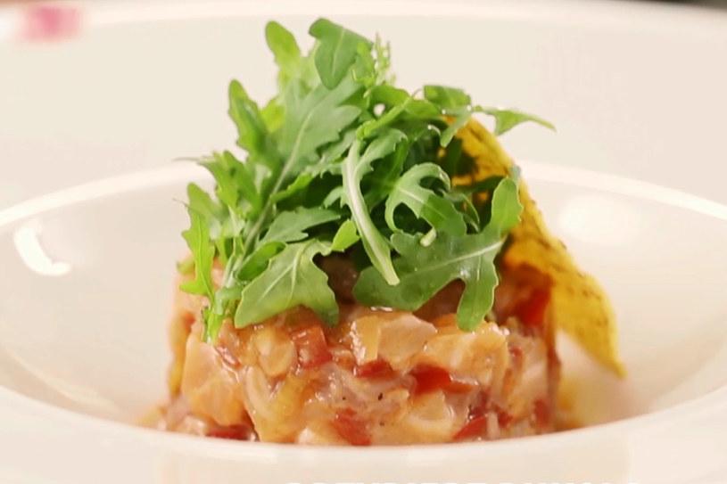 Ceviche z łososia z cytrusowym dressingiem /Styl.pl