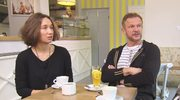 Cezary Pazura ociepla wizerunek. Pojawił się z córką w telewizji!