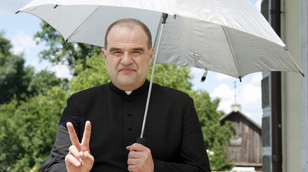 "Cezary Żak w serialu ""Ranczo"" /Krzemiński Jordan /AKPA"