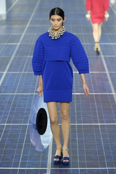 Chanel - kolekcja zaprezentowana podczas tygodnia mody w Paryżu