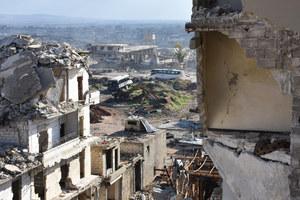 Chaotyczna ewakuacja Aleppo