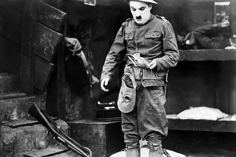 """Charles Chaplin w filmie """"Rewia Chaplina"""" /materiały dystrybutora"""
