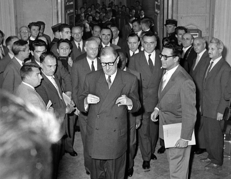 Charles de Gaulle w 1958 roku /AFP