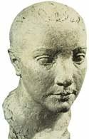 Charles Despiau, rzeźbiarski portret pani Othony Friesz, 1924 /Encyklopedia Internautica
