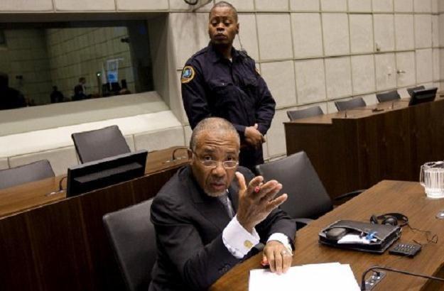 Charles Taylor, były prezydent Liberii /AFP