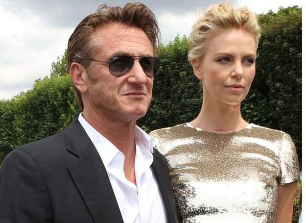 Charlize Theron i Sean Penn /Annabelle Chloma/SIPA /East News
