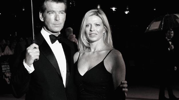 Charlotte Brosnan została adoptowana przez byłego Bonda po śmierci swego ojca - fot. Chris Jackson /Getty Images/Flash Press Media