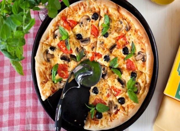 Cheat meal - pizza pełna warzyw! /materiały prasowe