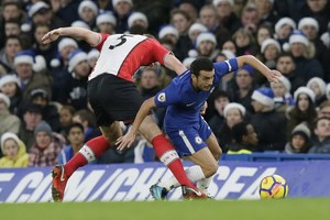 "Chelsea Londyn - Southampton FC 1-0. Marcos Alonso bohaterem ""The Blues"""