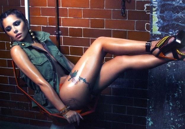 Cheryl Cole wydała sygnowany swoim nazwiskiem kalendarz /YouTube