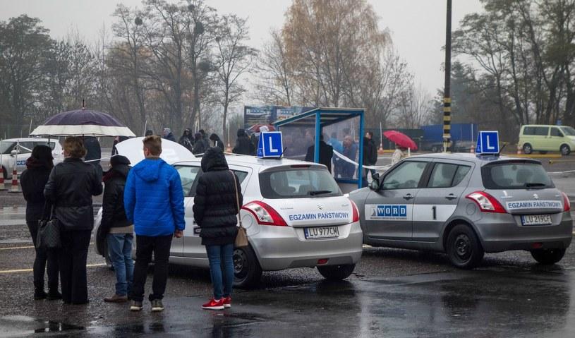 Chętnych na kierowców nie brakuje, wszyscy chcą zdążyć przed nowym prawem /Piotr Kamionka /Reporter