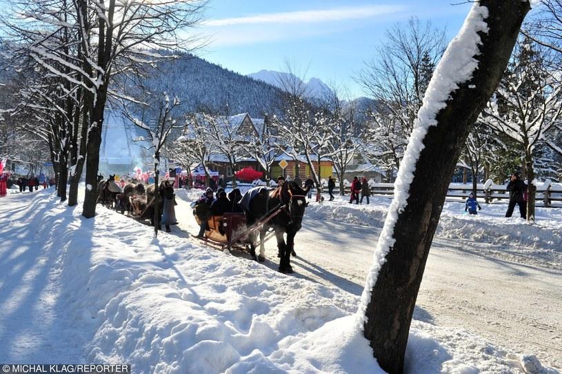 Chętnych na wypoczynek pod Tatrami nie brakuje. Muszą uważać na oszustów /Michał Klag /Reporter