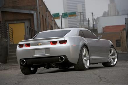 Chevelet Camaro / Kliknij /INTERIA.PL