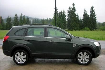 Chevrolet captiva / Kliknij /INTERIA.PL